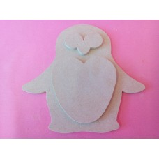 4mm MDF Penguin 150mm